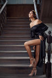 Queen sensuality Royalty Free Stock Photo