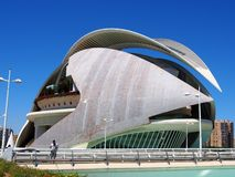 The Queen Sofia Palace of the Arts, City of Arts and Sciences, Valencia Stock Image