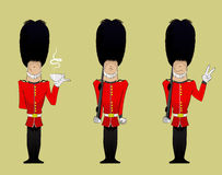 Queen  Soldier illustration Royalty Free Stock Photo