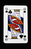 Queen of spades Stock Images