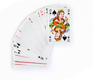 The queen of spades Stock Image