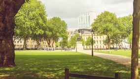 Queen Square A Bristol England. Horizontal Photography Royalty Free Stock Photo