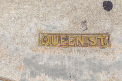 Queen Street. In Charleston, South Carolina Stock Photography