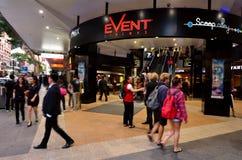 Queen Street Mall -Brisbane Queensland Australia Royalty Free Stock Image