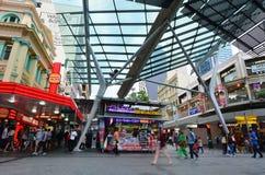 Queen Street Mall -Brisbane Queensland Australia Royalty Free Stock Photography