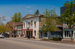 Queen street in Niagara On The Lake Stock Photography