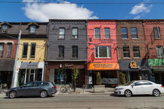 Queen Street Toronto Stock Photography