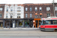 Queen Street West Toronto stock photos