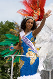 Queen of the summer carnaval Royalty Free Stock Image