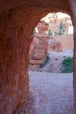 Queen& x27; traccia del giardino di s, Bryce Canyon fotografie stock