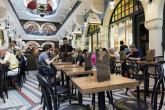 Queen Victoria Building cafe, Sydney CBD Stock Images