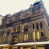 Queen victoria building exterior architecture Sydney Royalty Free Stock Images