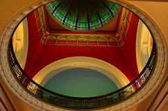 Queen Victoria Building 3. Queen victoria Building internal architecture - Dome Royalty Free Stock Images