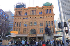 Queen Victoria building shopping Sydney Australia Royalty Free Stock Images