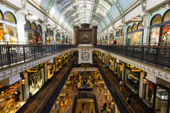 Queen Victoria Building. Sydney, Australia - February 22, 2017: Queen Victoria Building the historic and fantastic shopping mall in Sydney royalty free stock images