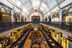 Queen Victoria Building. Sydney, Australia - February 22, 2017: Queen Victoria Building the historic and fantastic shopping mall in Sydney royalty free stock photo