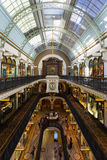 Queen Victoria Building. Sydney, Australia - February 22, 2017: Queen Victoria Building the historic and fantastic shopping mall in Sydney Royalty Free Stock Photos