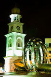 Queen Victoria Clock Tower of Penang Royalty Free Stock Photography