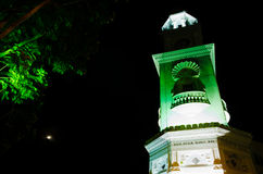 Queen Victoria Clock Tower of Penang. Historical Queen Victoria Clock Tower in Penang Stock Photo