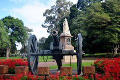 Queen victoria and emperor monument at Kings Park and Botanic Ga. Queen victoria and emperor monument in garden for Australian people and foreigners traveler stock photos