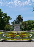 Queen Victoria gardens in Melbourne Royalty Free Stock Photos