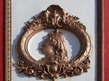 Queen Victoria Jubilee plaque Stock Image