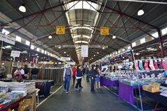 Queen Victoria Market. Australia Melbourne Queen Victoria Market Stock Photo