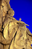 Queen Victoria Memorial. The Queen Victoria Memorial in front of Buckingham Palace, London (Parts - Queen Victoria night shot Royalty Free Stock Photos
