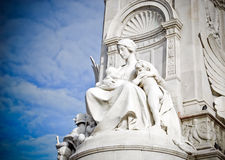 Queen Victoria Memorial Stock Photo