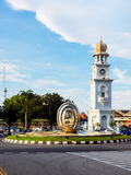Queen Victoria Memorial clock tower in Malaysia Royalty Free Stock Images