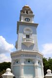 Queen Victoria Memorial Clock Tower, Penang Royalty Free Stock Image