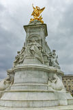 Queen Victoria Memorial in front of Buckingham Palace, London, England Royalty Free Stock Photos