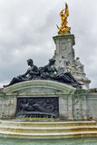 Queen Victoria Memorial in front of Buckingham Palace, London, England Stock Photography