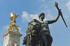 Queen Victoria Memorial Stock Images