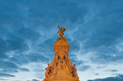 Queen Victoria Memorial at London, England Royalty Free Stock Photography