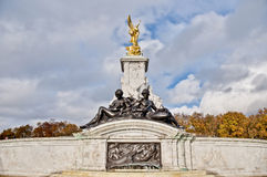 Queen Victoria Memorial at London, England Stock Images