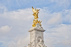 Queen Victoria Memorial at London, England stock photography