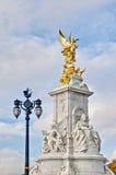 Queen Victoria Memorial at London, England stock photos