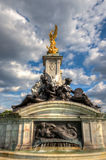 Queen Victoria Memorial near Buckingham Palace Stock Images