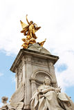 Queen Victoria memorial statue Royalty Free Stock Photos