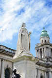 Queen Victoria Memorial Statue outside City Hall Stock Image