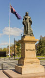 Queen Victoria Monument in Adelaide Stock Photos