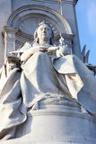 Queen Victoria monument in Central London Royalty Free Stock Images
