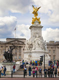 Queen Victoria monument, London Royalty Free Stock Photo