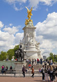 Queen Victoria monument, London Stock Photos