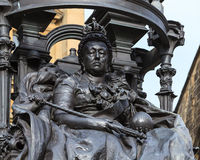 Queen Victoria Monument Royalty Free Stock Images