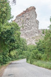 Queen Victoria Profile in rock formations Stock Photos