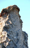 Queen Victoria's profile in conglomerate rock in Baviaanskloof Royalty Free Stock Images