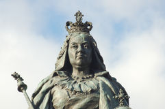 Queen Victoria Statue Stock Photo