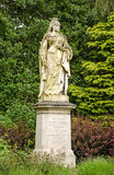 Queen Victoria statue, Abingdon. Statue of the late Queen Victoria on public display over 100 years in Abbey Gardens, Abingdon, Oxfordshire Stock Image